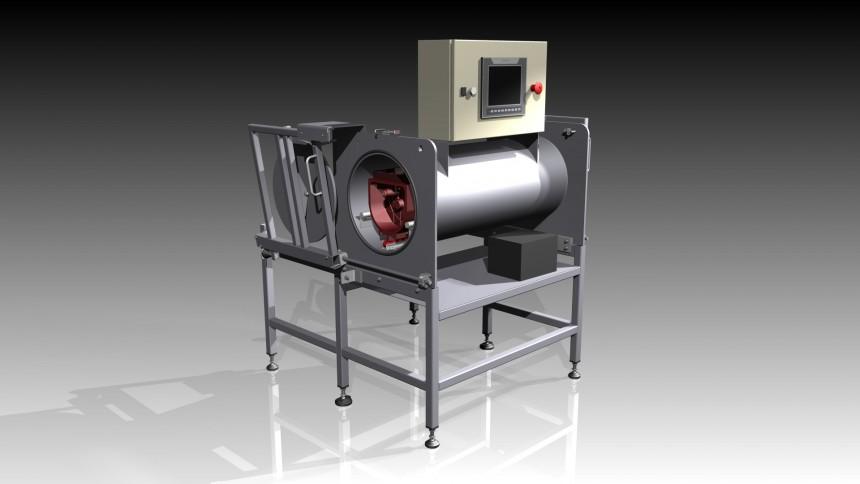 Machine de contrôle de fuite de gaz