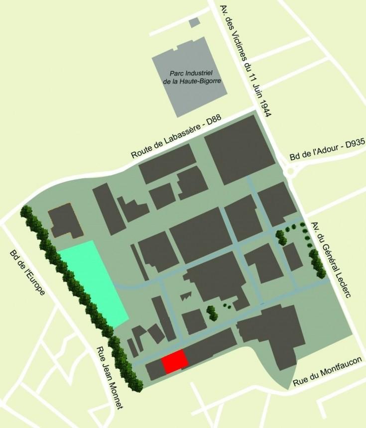 Plan Bigorre Ingénierie sur la zone Soulé
