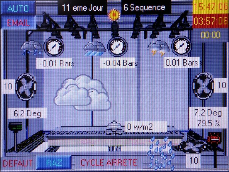Automate de l'enceinte climatique Bigorre Ingénierie
