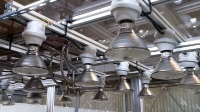 Système d'éclairage enceinte climatique Bigorre Ingénierie