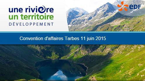 Convention d'affaires EDF Tarbes 11 juin 2015